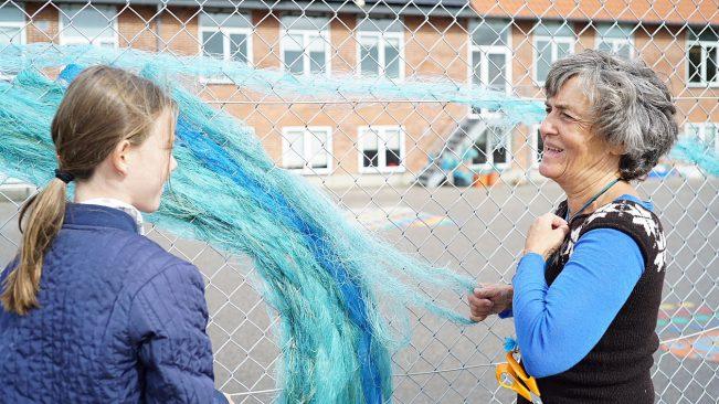 Mikroplast på skoleskemaet i Staby Skole – Vesterhavsklyngen